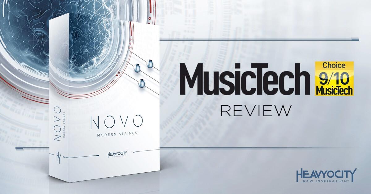 MusikerMagasinet Reviews Heavyocity NOVO