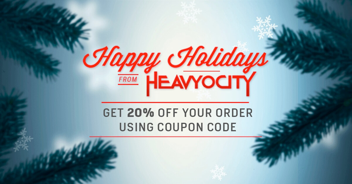 Heavyocity's 20% Off Holiday Coupon is Now Available