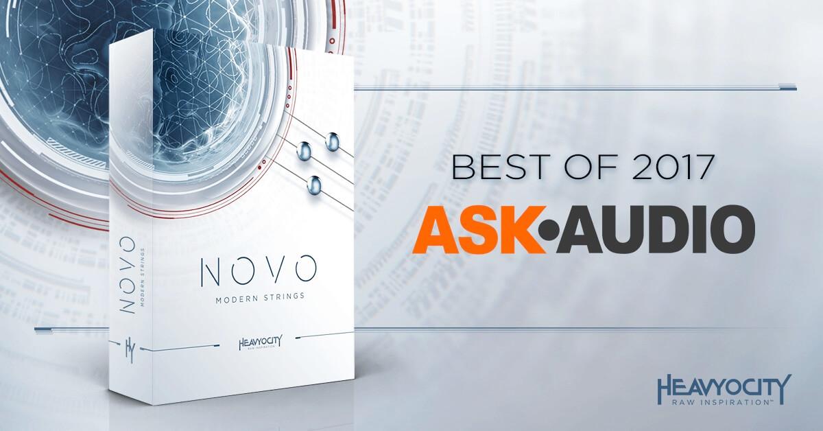 Ask.Audio names Heavyocity's NOVO Best of 2017