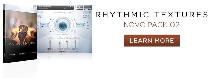 Learn more at Heavyocity.com/Rhythmic-Textures