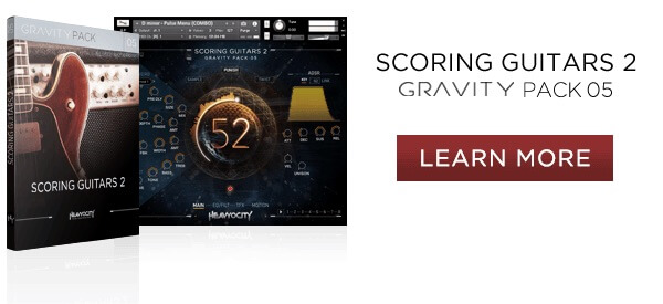 Learn more at Heavyocity.com/Scoring-Guitars-2