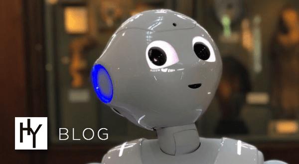 Heavyocity Blog: Meet, Pepper, The Smithsonian's Art+Music Robot