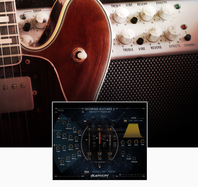 Heavyocity Scoring Bass | Bass Guitar Virtual Instrument