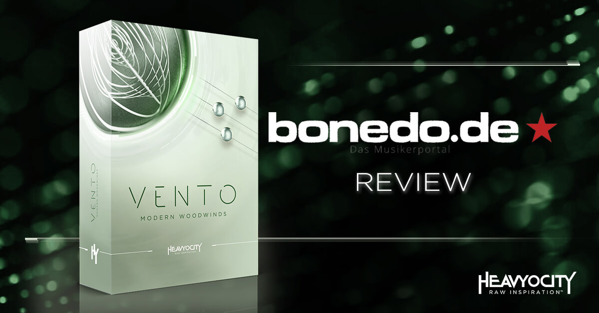 Sample Sound Review Reviews VENTO
